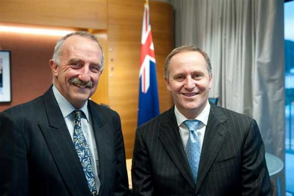 John with PM John Key